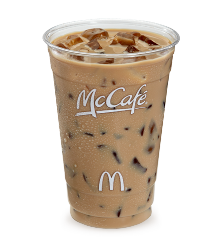 Image result for iced coffee mcdonalds