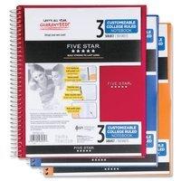 Mead MEA08232 Five Star Customizable Composition Notebook