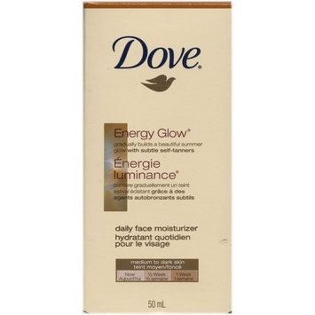 Dove Energy Glow Daily Face Moisturizer Medium To Dark Skin