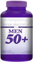 Piping Rock Mega Multiple Vitamin for Men 50 Plus 200 Coated Caplets