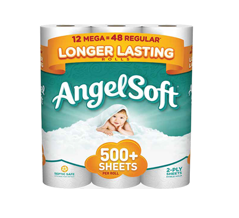 Angel Soft Toilet Paper Mega Roll