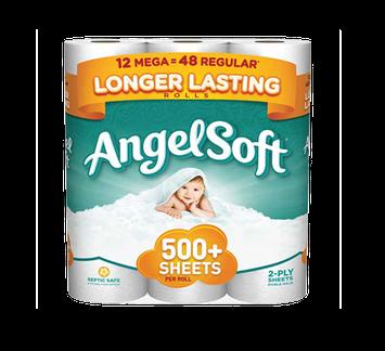 Angel Soft Toilet Paper Mega Roll