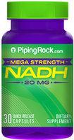 Piping Rock NADH 20mg 30 Capsules