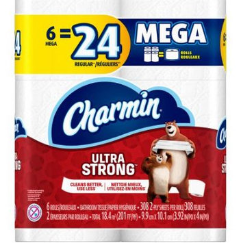 Charmin® Ultra Strong™ Mega Roll