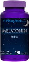 Piping Rock Melatonin 10 mg 120 Tablets