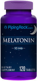 Piping Rock Melatonin 10 mg 120 Tablets
