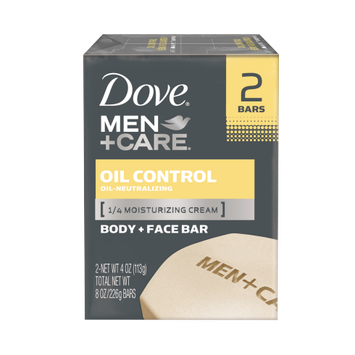 Dove Men+Care Oil Control Body And Face Bar