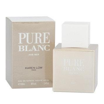 Karen Low Pure Blanc Men's 3.4-ounce Eau de Toilette Spray