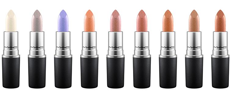 MAC Cosmetics Metallic Lipsticks