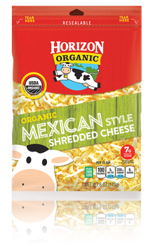 Horizon Shredded Mexican Cheese
