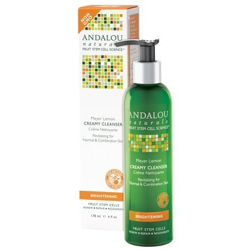 Andalou Naturals Meyer Lemon Creamy Cleanser
