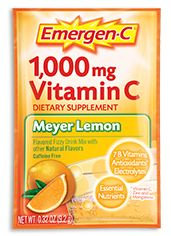 Emergen-C 1,000 mg Vitamin C Meyer Lemon