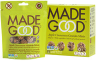 Nassau Candy Made Good Apple Cinnamon Granola Minis