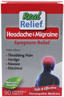 Homeolab Migraine Relief 90 Chewable Tablest