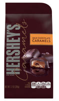 Hershey's Caramels in Milk Chocolate
