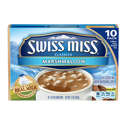 Swiss Miss Milk Chocolate with Marshmallow Hot Cocoa Mix
