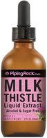 Piping Rock Milk Thistle Seed Liquid Extract 2 fl oz (59 mL)