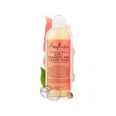 SheaMoisture Coconut & Hibiscus 2-in-1 Foaming Milk & Body Wash
