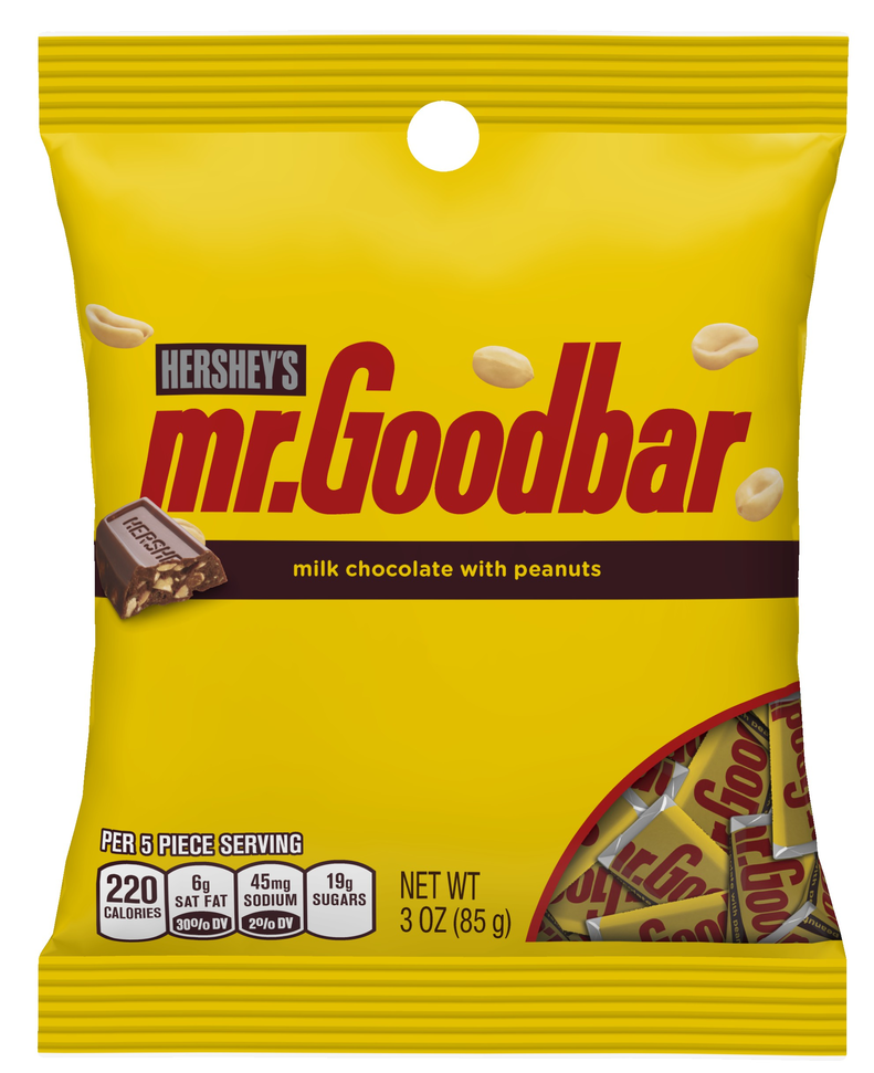 Hershey's Mr. Goodbar Milk Chocolate Candy Bar