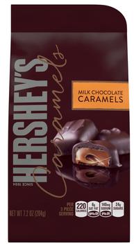 Hershey's Caramels In Milk Chocolate