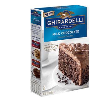 Ghirardelli Milk Chocolate Premium Cake Mix