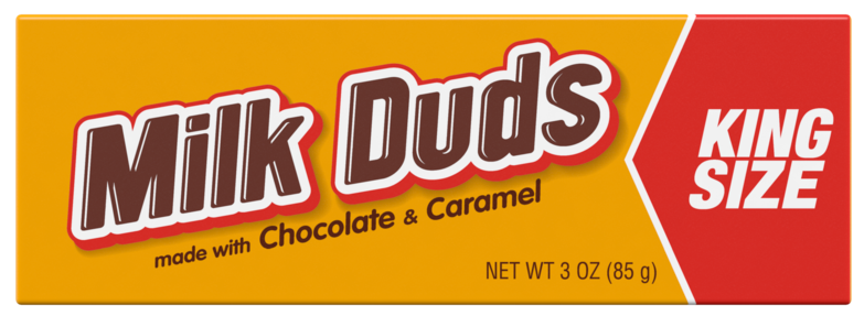 Hershey's Milk Duds Candy With Chocolate And Caramel
