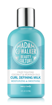 Madam C.J. Walker Beauty Culture Coconut & Moringa Oils Curl Defining Milk