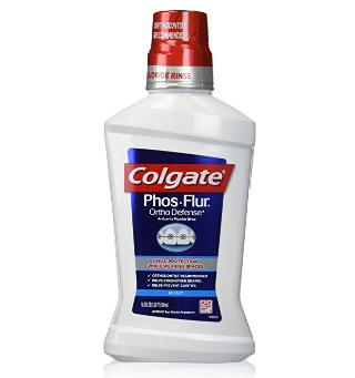 Colgate® Phos-Flur® Ortho Defense® Anti-Cavity Fluoride Rinse Mint