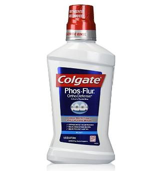 Colgate® Phos-Flur® Ortho Defense® Anti-Cavity Fluoride Rinse Mint