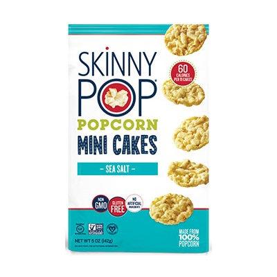 SkinnyPop® Sea Salt Popcorn Mini Cakes