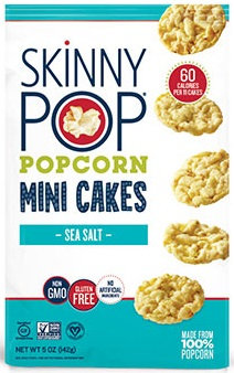 Skinnypop 174 Sea Salt Popcorn Mini Cakes Reviews 2019