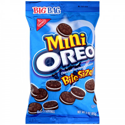 Nabisco Oreo Cookies Bite Size