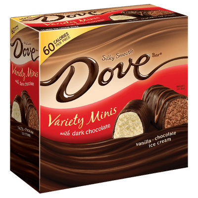 Dove Chocolate Miniatures Variety Pack With Dark Chocolate