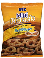 Utz Mini Pretzels with Butterfinger Candy Pieces