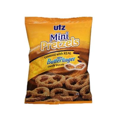 Utz Mini Pretzels with Butterfinger Candy Pieces