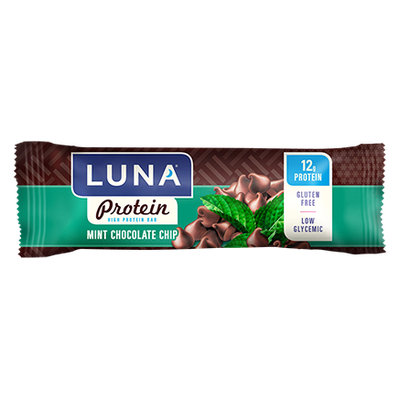 Luna Protein Mint Chocolate Chip Protein Bars