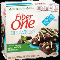 Fiber One 90 Calorie Mint Fudge Brownie