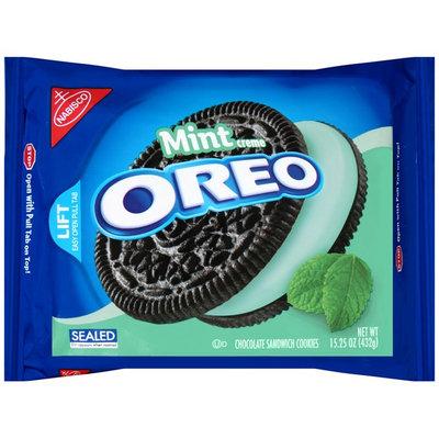 Nabisco Oreo - Sandwich Cookies - Chocolate Mint Creme
