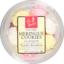 Miss Meringue Mini Vanilla Rainbow Cookies