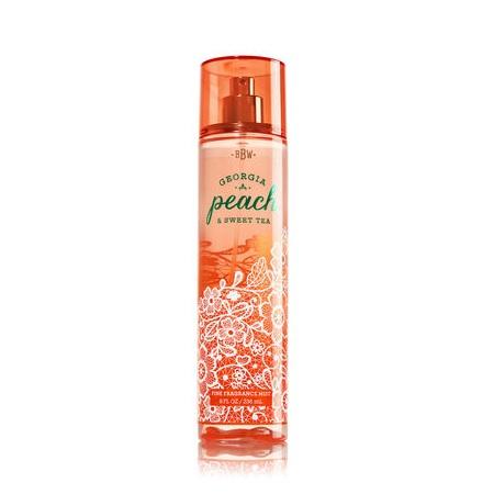 Bath & Body Works® Georgia Peach Sweet Tea Fine Fragrance Mist