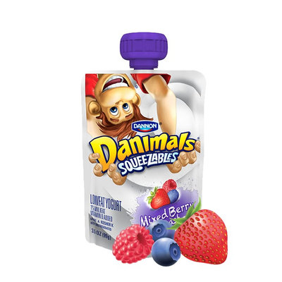 Danimals® Mixed Berry Blast Squeezables