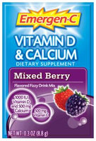 Emergen-C Vitamin D & Calcium Mixed Berry