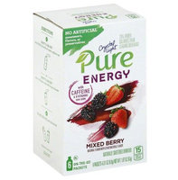 Crystal Light Pure Energy On the Go Mixed Berry Drink Mix