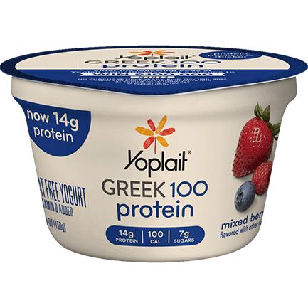 Yoplait® Greek 100 Protein Mixed Berry Yogurt