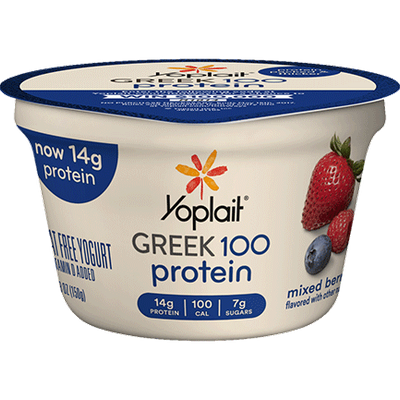 Yoplait® Greek 100 Protein Mixed Berry Yogurt