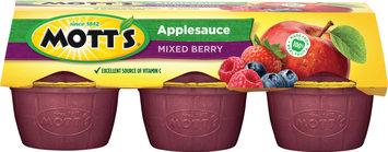 Mott's® Applesauce Mixed Berry