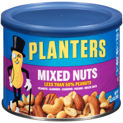 Planters Mixed Nuts Can