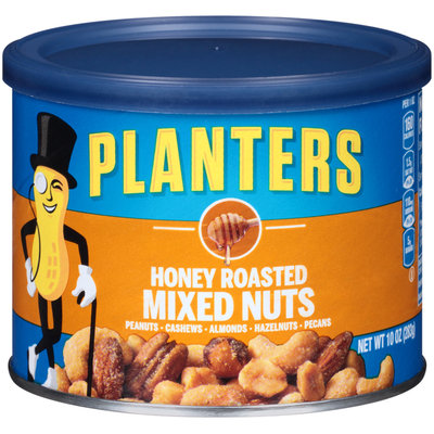 Planters Honey Roasted Mixed Nuts Can