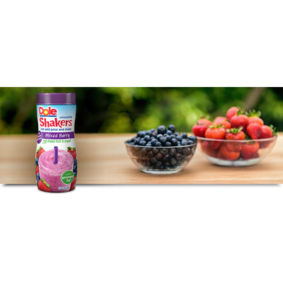 Dole Mixed Berry Fruit & Yogurt Smoothie Shakers