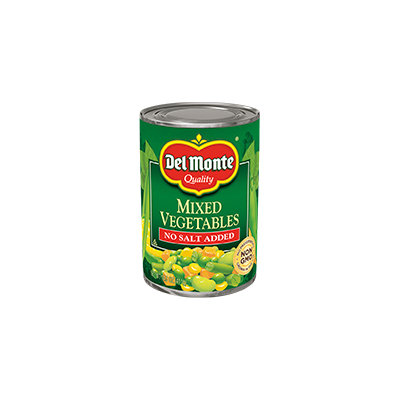 Del Monte® No Salt Added Mixed Vegetables